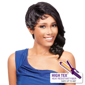 OUTRE Synthetic Hair Half Wig Quick Weave Complete Cap Loose Cut