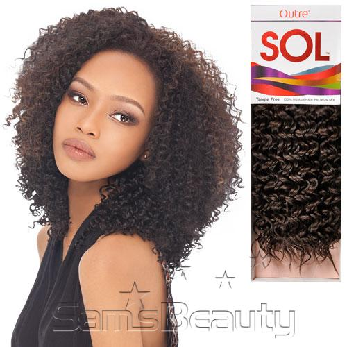 Human hair premium mix weave outre sol bohemian samsbeauty hair length shown 12 hair color shown 1b30 pmusecretfo Gallery