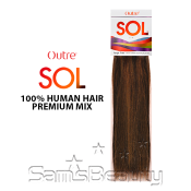 Human Hair Premium Mix Weave Outre Sol Yaki
