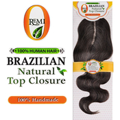 ORemi Unprocessed Brazilian Virgin Remy Human Hair Weave Natural Top Closure Body Wave 12
