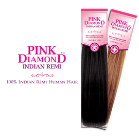 Indian Remi Human Hair Weave JBS Pink Diamond Yaki