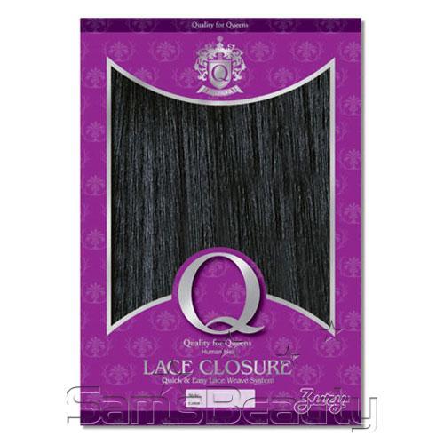 Zury Human Hair Blend Q Lace Closure 75