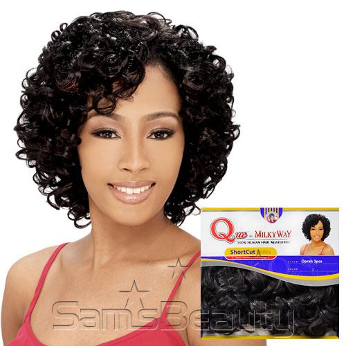 Human hair blend weave milky way que shortcut series oprah cosmo human hair blend weave milky way que shortcut series oprah cosmo 3pcs pmusecretfo Gallery