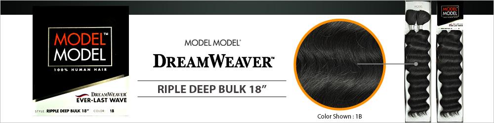 Human Hair Braids Modelmodel Dream Weaver Ripple Deep Bulk
