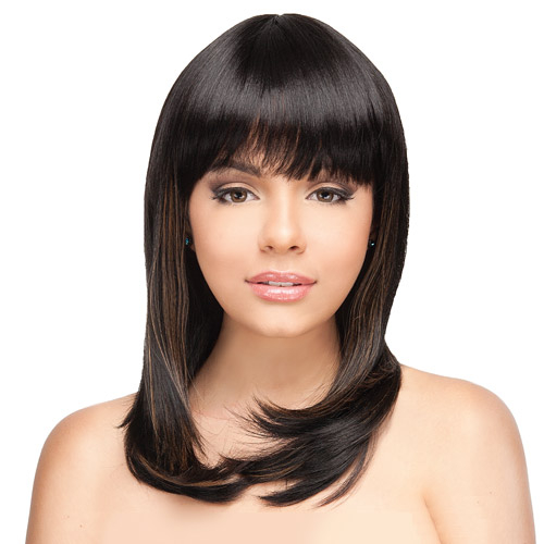 Stupendous Rb Collection 21Tress Human Hair Blend Wig H Spicy Samsbeauty Hairstyles For Men Maxibearus