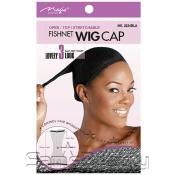 Open Top AMP; Stretchable Fishnet Wig Cap