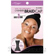 Open Top AMP; Stretchable Cylinder Braid Cap