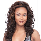 Synthetic Hair Half Wig Its A Wig Regina Iron Friendly