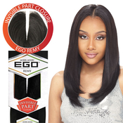 Remy Human Hair Weave Model Model Ego Invisible Part Closure