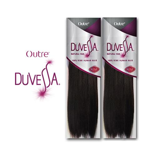 Remi Human Hair Weave Outre Duvessa Natural Yaki