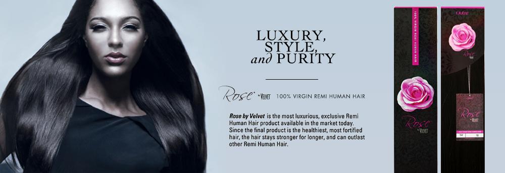 Remi Human Hair Weave Outre Velvet Rose Yaki Samsbeauty