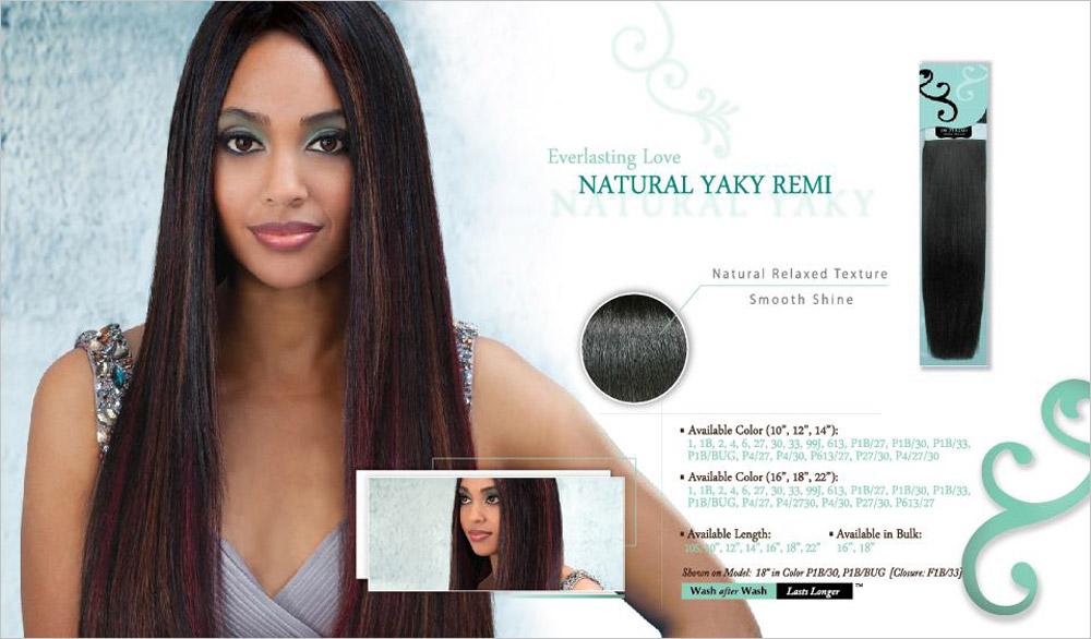 Indi Remi Virgin Hair Natural Yaky Weave Samsbeauty