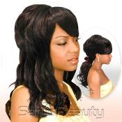 Synthetic Hair Wig Euro Collection Ponytail Rose