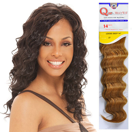 Human Hair Master Mix Weave Milky Way Que Loose Deep Samsbeauty