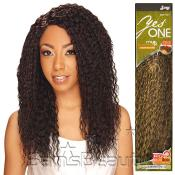 Synthetic Hair Weave Royal Zury YesOne Brazilian Wave 5 Pcs 1218 and Invisible Weave Part
