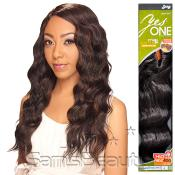 Synthetic Hair Weave Royal Zury YesOne Egyptian Wave 5 Pcs 1218 and Invisible Weave Part