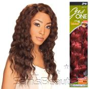 Synthetic Hair Weave Royal Zury YesOne Loose Deep 5 Pcs 1218 and Invisible Weave Part