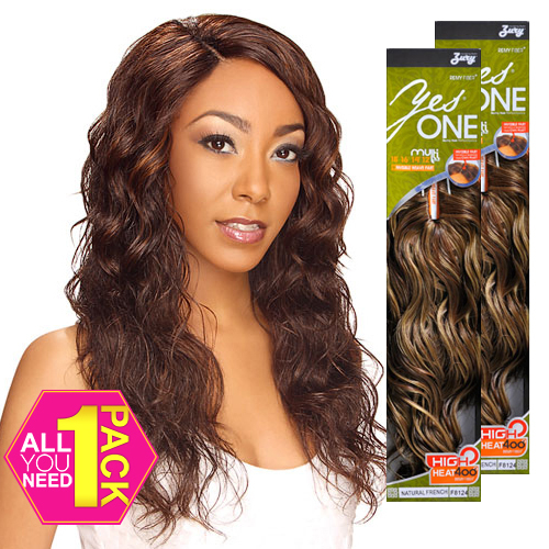 Synthetic Hair Weave Royal Zury Yesone Natural French 5 Pcs 12 18 And Invisible Part Samsbeauty