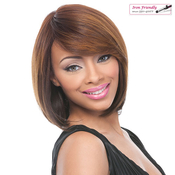 Synthetic Full Cap Wig Its a Wig Perm Yaki Mary J