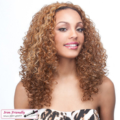 Synthetic Hair Half Wig Its A Wig Vanessa Iron Friendly
