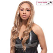 Synthetic Hair Half Wig Its A Wig Francesca Iron Friendly