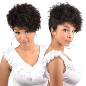 Synthetic Hair Half Wig OUTRE Quick Weave Cap Retro Cut