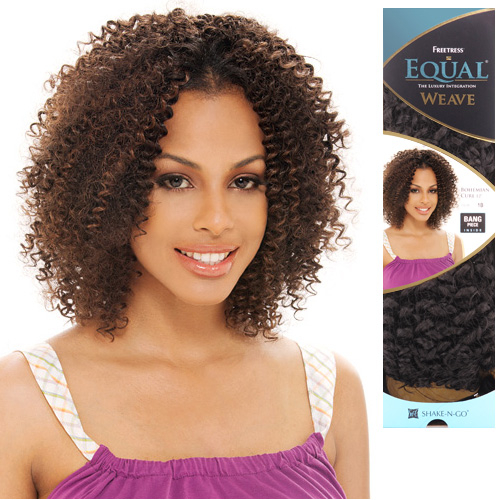 Synthetic hair weave freetress equal bohemian curl 12 samsbeauty pmusecretfo Image collections
