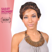 Synthetic Hair Wig Secret Sassy Mommy