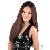 Synthetic Lace Front AMP; Rear Wig Janet Collection Black Pearl Dania