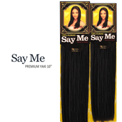 Say Me Human Hair Blend Weave Premium Yaki