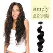 Outre Simply NonProcessed Brazilian Human Hair Weave Natural Body