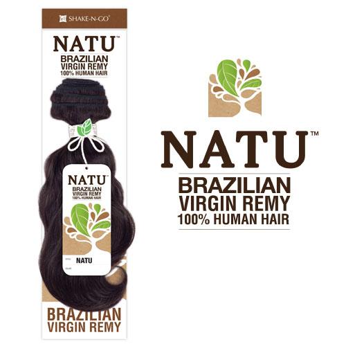 Shake N Go Unprocessed Brazilian Virgin Remy Human Hair Weave Natu
