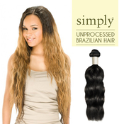 Outre Simply NonProcessed Brazilian Human Hair Natural Wave