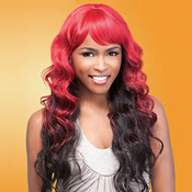 Sensationnel Synthetic Hair Wig Totally Instant Weave Sunflower