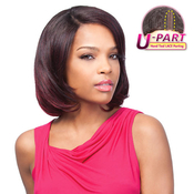Sensationnel Synthetic Hair Wig Totally Instant Weave HandTied UPart Carnation