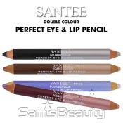 SANTEE Double Colour Perfect Eye AMP; Lip Pencil
