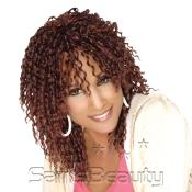 Synthetic Hair Weave Beverly Johnson Loose Straw Curl10