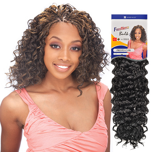 Crochet Braids Presto Curl : FreeTress Synthetic Hair Crochet Braids Presto Curl - SamsBeauty