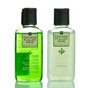 Thicker Fuller Hair Revitalizing Shampoo 60ml AMP; Instantly Thick Serum 50ml Set