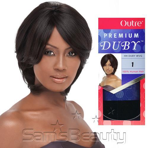 Enjoyable Human Hair Weave Outre Premium Duby Samsbeauty Short Hairstyles Gunalazisus