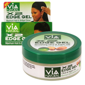 Via Natural X2 Edge Gel 2oz edge control