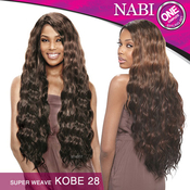 Vanessa Synthetic Hair Weave Nabi Super Weave Kobe 28 6 Pcs