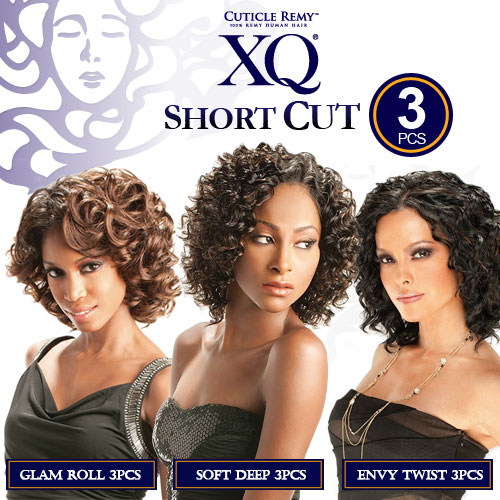 Xq Cuticle Remy Human Hair Weave Soft Deep 3pcs