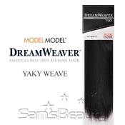 Human Hair Weave ModelModel Dream Weaver Yaky