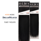 Human Hair Weave ModelModel Dream Weaver Yaky